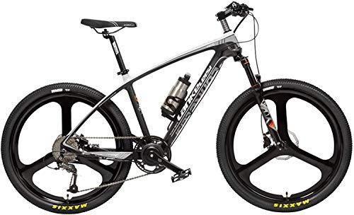 TYT Bicicleta de Montaña Eléctrica S600 26 Pulgadas Power Assist E-Bike 400W...