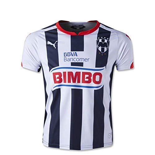 PUMA Soccer Replica Jersey: PUMA Monterrey Youth Home Replica Soccer Jersey 14/15 YXL