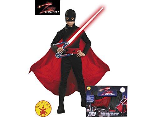 Disfraz Zorro Generación Z Niño Talla S