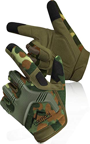 normani Tactical Paintballhandschuhe Army Gloves Specialist Farbe Flecktarn Größe M