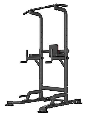 Aoneky Power Tower - Home Gym Pull Up Dip Bar Station - Workout Dip Stand Station