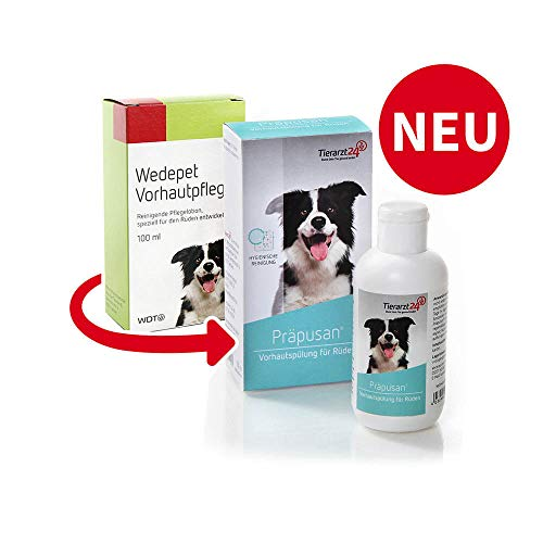 WDTv Tierarzt24 Präpusan 100ml (ehemals Wedepet Vorhautpflege)