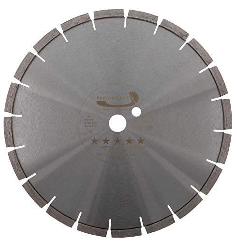 PRODIAMANT Disco de corte de diamante BETON Electric-Blade 300 mm (305) x 22,23 mm, adecuado para cortadora eléctrica de juntas y amoladora de corte