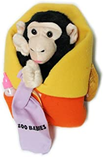 Plush Zoo Babies Chimp Puppet 11""