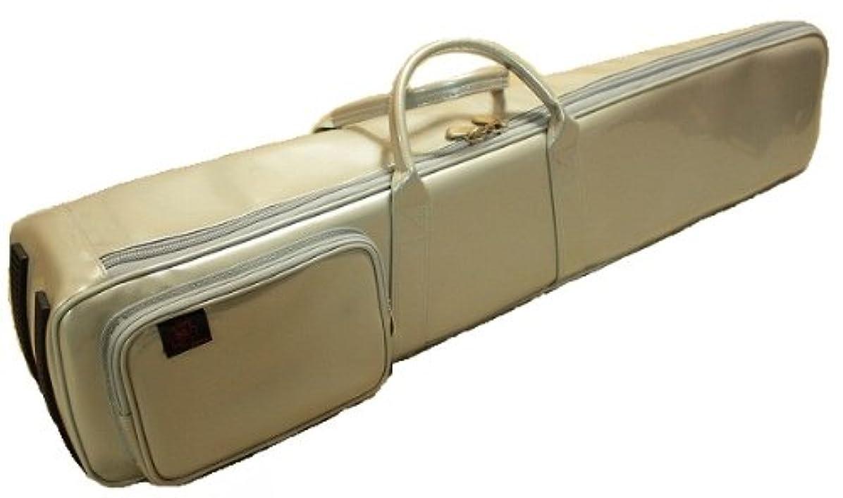 ソーダ水扱う更新する二胡ケース (台湾 長安楽器特製 エナメル風シルバー ソフトケース)