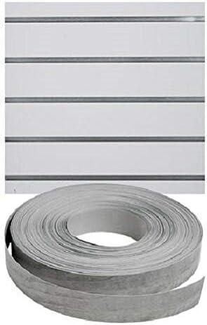 Vinyl Inserts Slatwall Panel Silver Popular popular New item Shelving 130 Ro Display ft 6