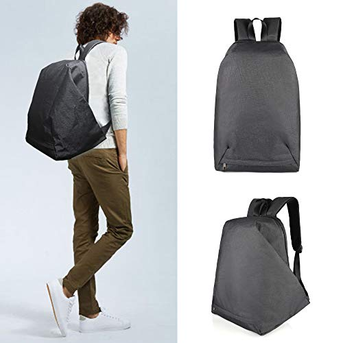 Gray Anti Theft Sport Backpack with Laptop Compartment | fit 15.6 inches Laptop Backpack for School Bag, Travel, College, and Casual use | Multi-Pockets | Water Resistant Backpack for Men