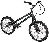 HCMNME Bicicleta Duradera 20 Pulgadas de Bicicletas BMX Trial Bike Completa, Tipo de Alta Resistencia Marco de aleación de Aluminio Tenedor de Doble Capa Un Ruedas, Frenos Magura MT2 Cuadro d
