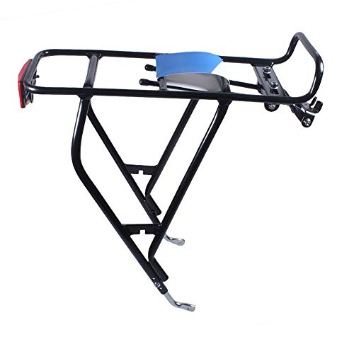 Great Price! DERTHWER Bicycle Pannier Rack, Bicycle Carrier Rack Bicycle Pannier Rack Bicycle Rear R...