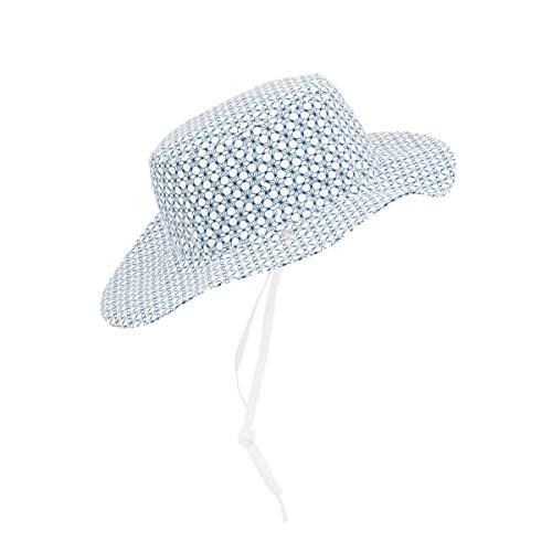 Ki ET LA - Chapeau anti-UV réversible bébé et enfant - Graphik Style - 50-52 cm
