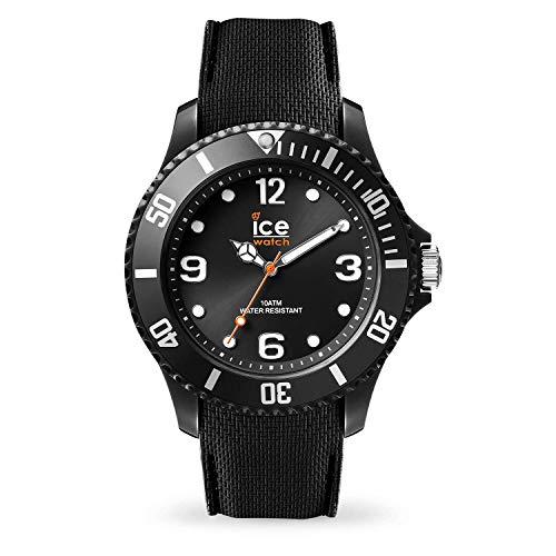 Ice-Watch - Ice Sixty Nine Black - Montre Noire pour Homme avec Bracelet en Silicone - 007265 (Large)