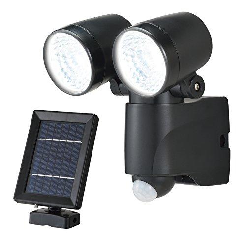 高儀 EARTH MAN ソーラー式LEDセンサーライト ダブル 3W SLT-3ECWA
