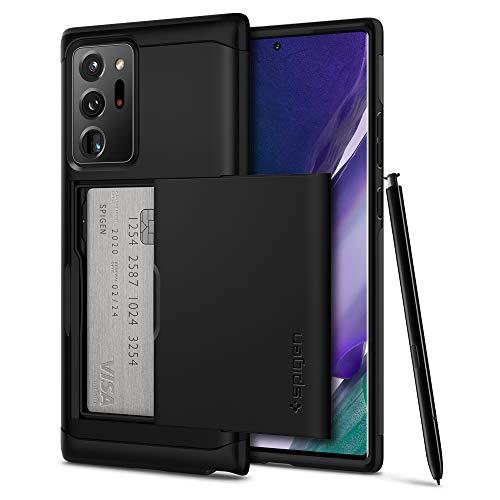 Spigen Funda Slim Armor CS Compatible con Samsung Galaxy Note 20 Ultra - Negro