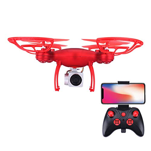 TFNAI Adults Drone Camera, Mini Drone with WiFi FPV Camera, Altitude Hold Headless Mode One Key Return Custom Flight Path, Best for Beginners,Red