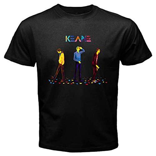 Keane Logo Men's Black T-Shirt S M L XL 2XL 3XL