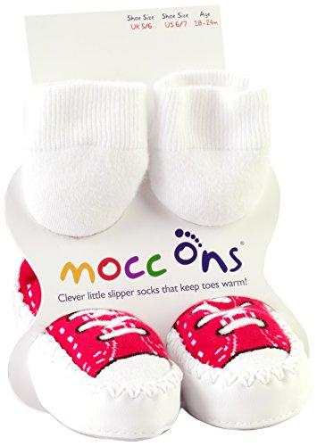 Mocc Ons 90941.0 huttenschoenen, sneaker rood, 2-3 jaar, rood
