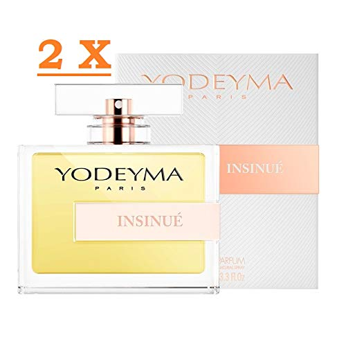 Profumo Donna Yodeyma INSINUE' Eau de Parfum 100 ml 2 confezioni