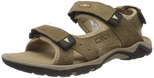 CMP – F.lli Campagnolo Almaak Hiking Sandal, Sandalias de Senderismo Hombre, Braun Torba P803, 41 EU