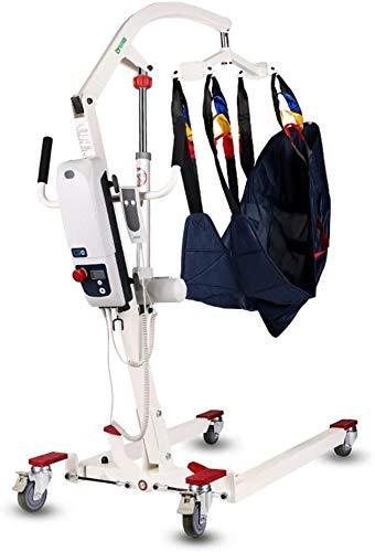 Tragbare elektrische Patientenumbettung Aufzug Maschine mit Sling Faltbare Personal Hydraulic Patienten Body Lift Kit justierbare Taille for behinderte Menschen Ältere 519