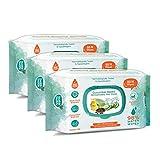 Buddsbuddy Cucumber Based Skincare Baby Wet Wipes (240 Pieces)