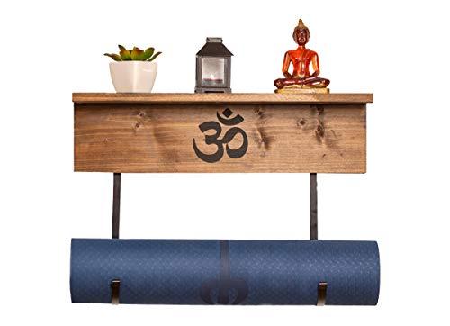 Emotiset Soporte para Esterilla de Yoga. Estanteria, Perchero Mueble para Accesorios, Utensilios...