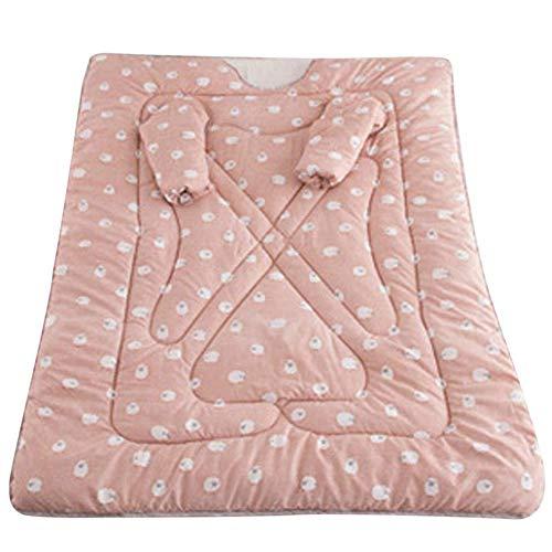 AITOCO Tragbare Winterdecke mit Ärmel, Bequeme Decke waschbar Baumwolle Steppdecke Dicke warme Decke für Zuhause und Büro