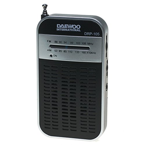 Daewoo Radio DRP-105 S Silver AMFM