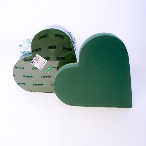 Smithers Oasis - Formas de gomaespuma, diseño de corazón (53 cm)