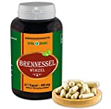 VITAIDEAL ® Brennessel-Wurzel (Urtica dioica) 180 Kapseln je 400mg, aus rein natürlichen Kräutern, ohne...