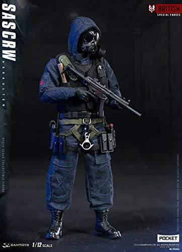 1/12 SAS CRW 反テロリズム 攻撃手 武器付き コスプレ アクションフィギュア PES001