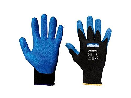 Kimberly Clark 40227 Jackson Safety G40 Schaumbeschichtete Handschuhe, Handspezifisch, Blau (60-er pack)