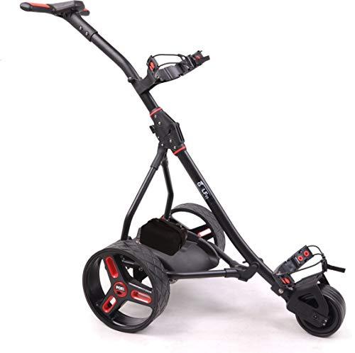 Elektro Golf Trolley PGE 2.1 Lithium Batterie 20Ah, USB, schwarz