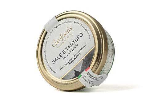 ジオフーズ 黒トリュフ塩 Geofoods ウンブリア産 トリュフ 使用 50g