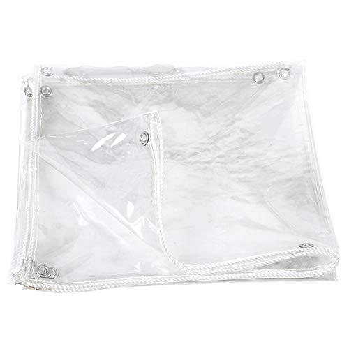 catch-L Lona Impermeable Espesar PVC Transparente Impermeable Al Aire Libre Carpa del Parabrisas De Tela Impermeable Lona Flor Balcón Ventana De Aislamiento Y Fría Lluvia De Tela