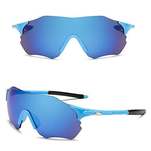 Óculos De Sol Esportivo Masculino Feminino Ciclismo Mtb Azul