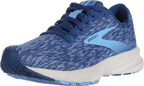 Brooks Launch 7 Blue/Dazzling Blue/Cornflower 8.5
