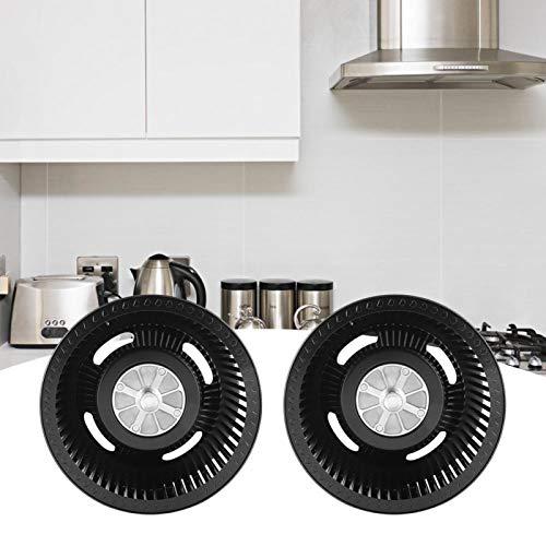 Aoutecen Accesorios para Campana extractora Rueda de Ventilador Instalación Conveniente Rueda de Ventilador Reemplazo automático para Cocina de Laboratorio