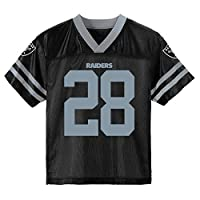 Josh Jacobs Las Vegas Raiders Black #28 Youth 8-20 Home Player Jersey (18-20)