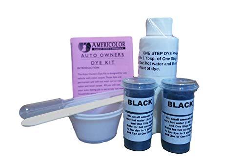 Automotive Carpet Dye Kit - Black