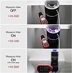 AICase USB UV Lampe Anti Moustique Électrique Tueur de Moustique Tueur D'insectes Mouches Piège,Surface utile jusqu'à 20m²,Pas Bruit,Pas Rayonnement. #2