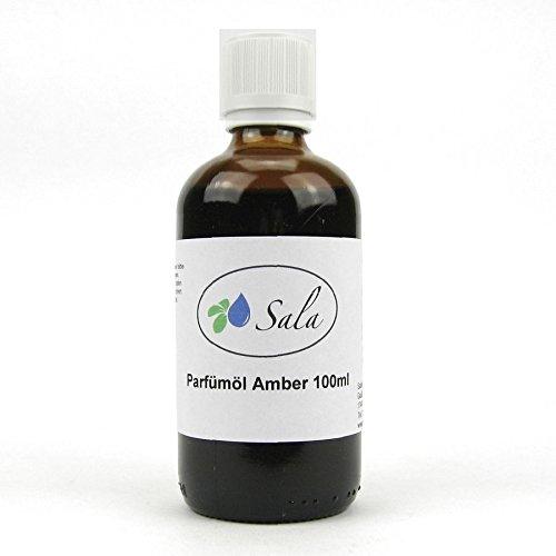 Sala Amber Duftöl Parfümöl Aromaöl 100 ml Glasflasche