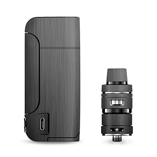 IT'S A SKIN Decal Vinyl Wrap for Vaporesso Armour Pro Cascade Tank Vape Sticker Sleeve Cover/Brushed Metallic Pattern