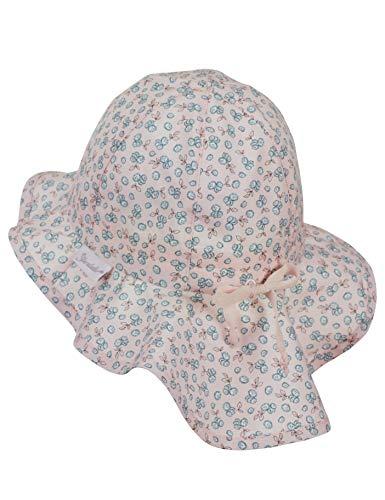 Sterntaler Baby Girls' Casquette Avec Protã¨ge-nuque Bucket Hat