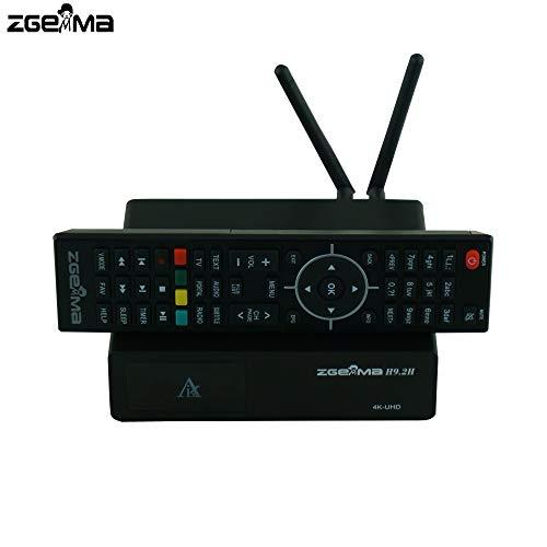 Zgemma H9.2H Decoder 4K UHD Combo Wi-Fi, supporta Iptv, con lettore di smartcard e microSD