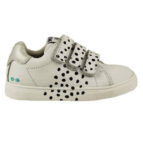 BunniesJR Laurens Louw - Kinderschoenen Meisjes Maat 23 - Wit - Sneakers