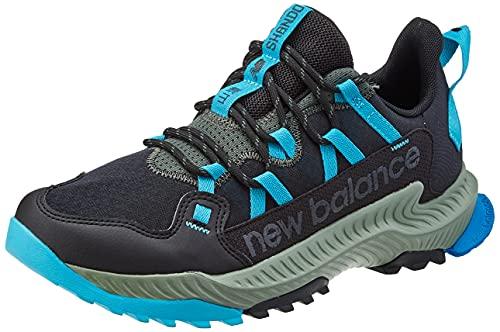 New Balance Herren MTSHAMO_44,5 Running Shoes, Black, 44.5 EU