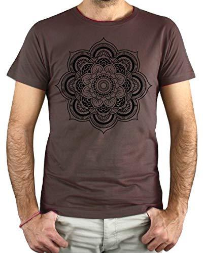 PLANETACAMISETA Camiseta Hombre - Unisex Mandala