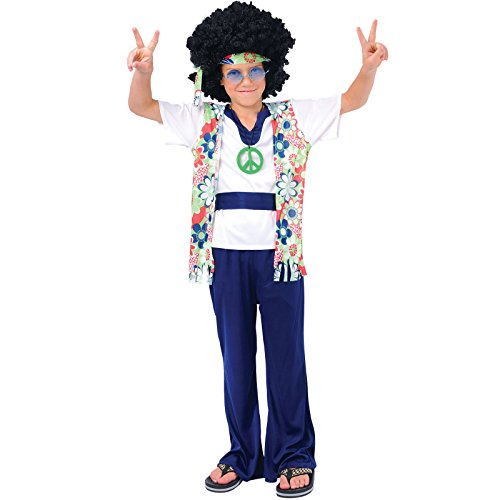 Hippie Dude - Kids Costume 11 - 13 years