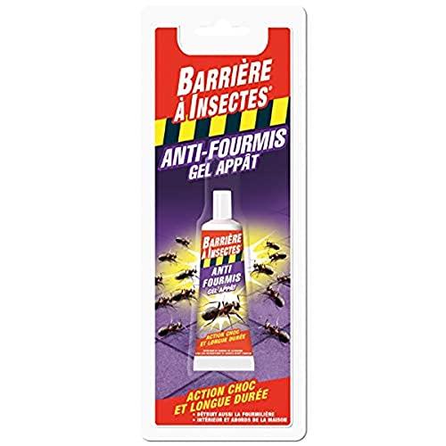 BARRIERE A INSECTES Gel Anti-Fourmis, Jusqu'à 1 mois, Blister 1 tube, 30 g, BARFOT30