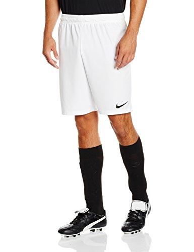Nike Herren Fußballshorts Park II, Weiß (White/Black/100), Gr. XXL